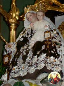 Novena de la Virgen del Carmen en 2013